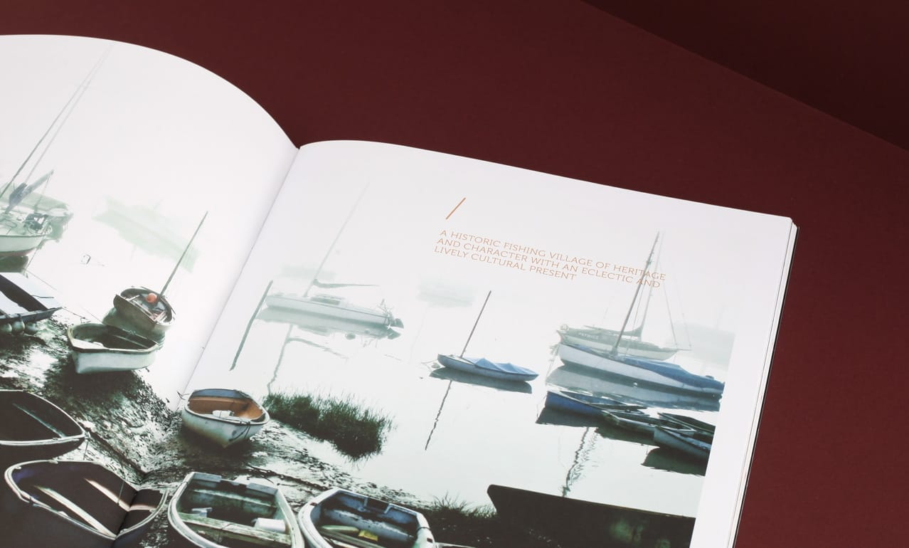 Brochure design for Eden Point development, Leigh on Sea