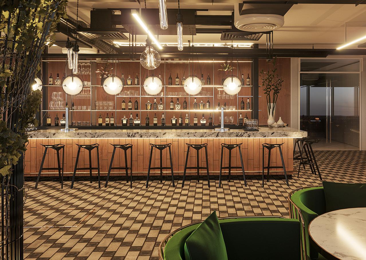 Bar CGI