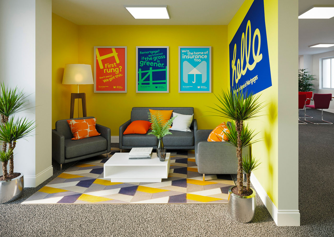 Home of Mortgages interior