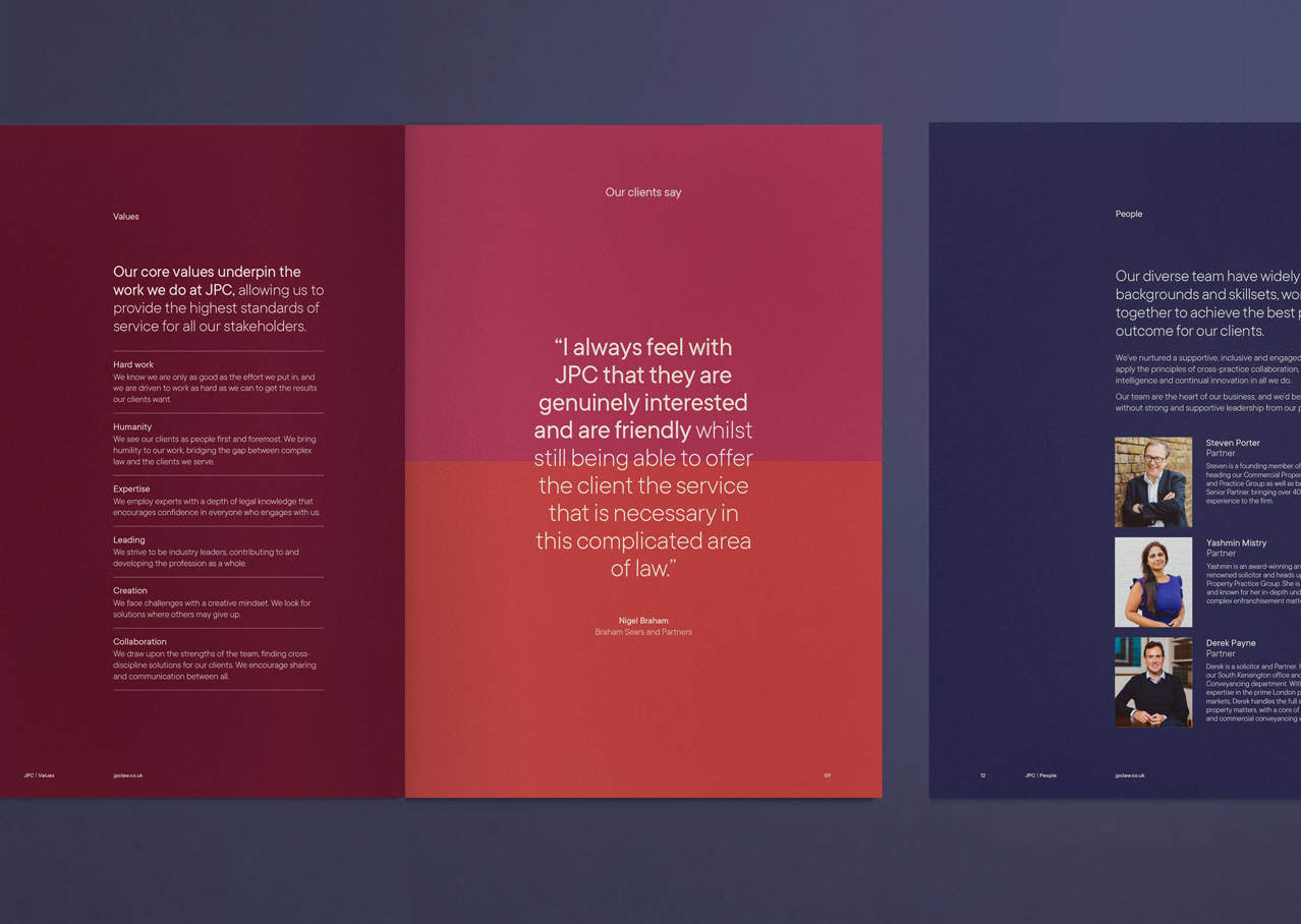 JPC Brochure spread
