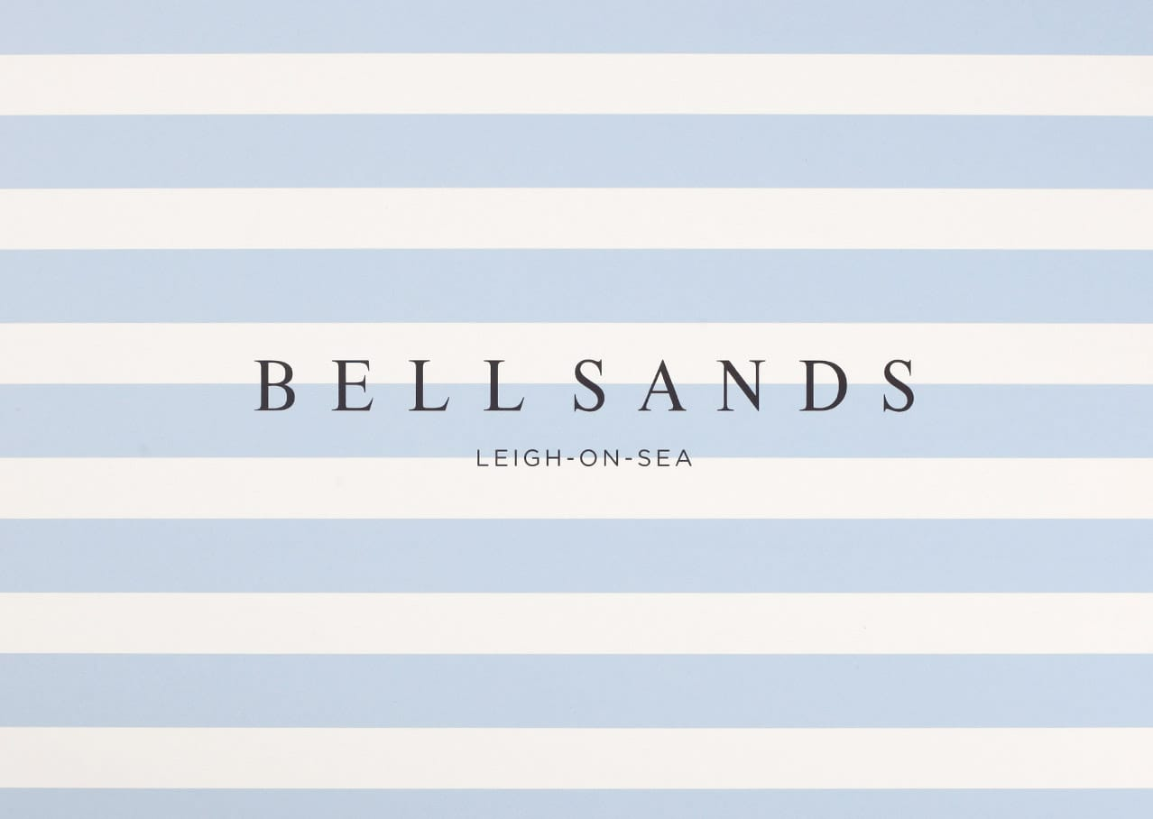 Brand and logo design for Bell Sands development, Leigh on Sea