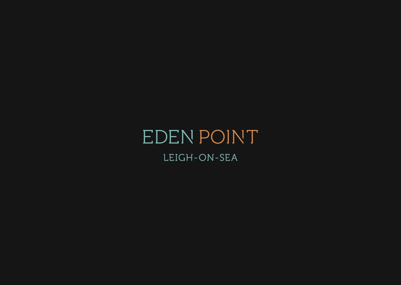 Development naming, branding and logo design for Eden Point, Leigh on Sea