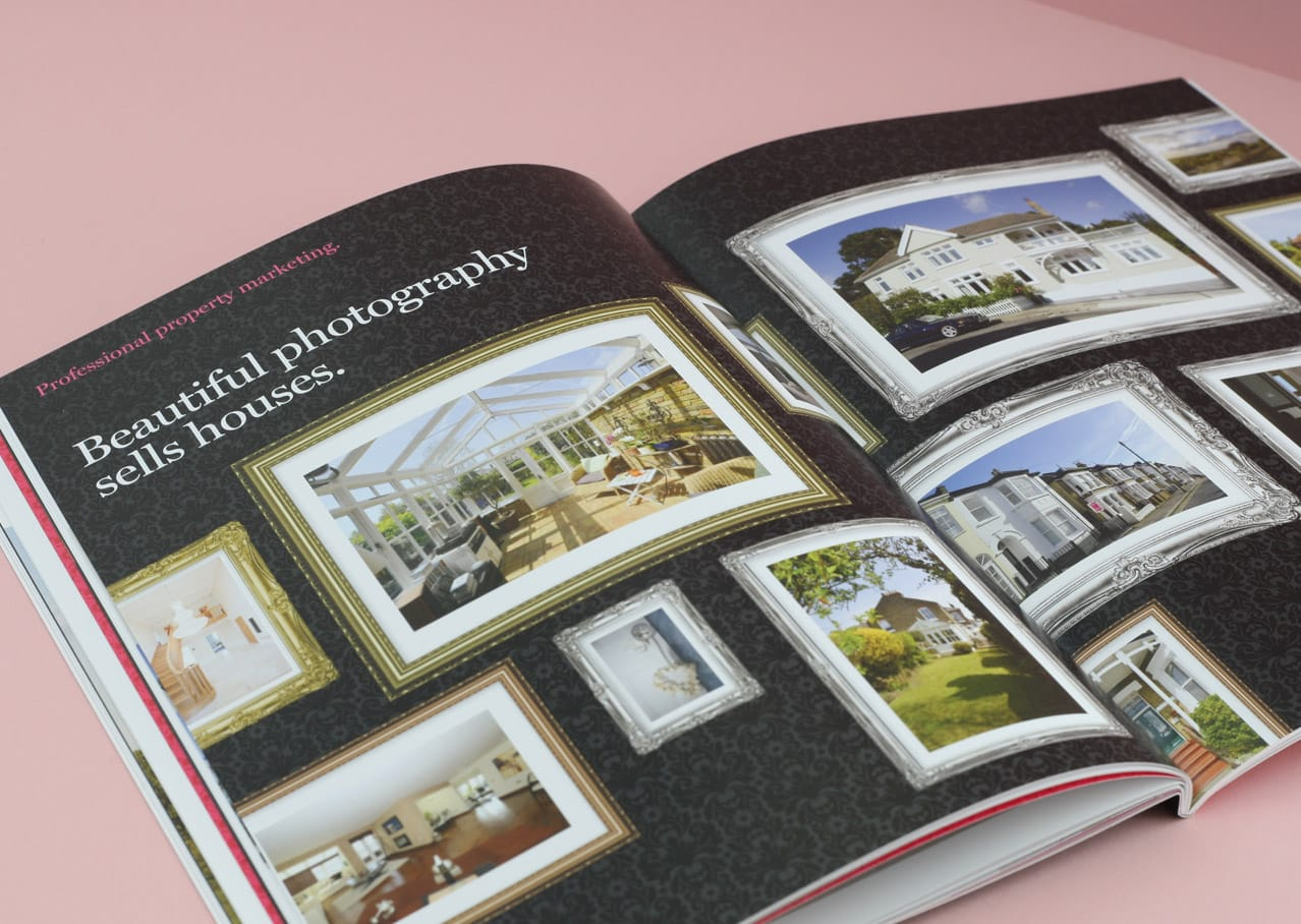 Layout design for Home Estate Agents, Leigh on Sea