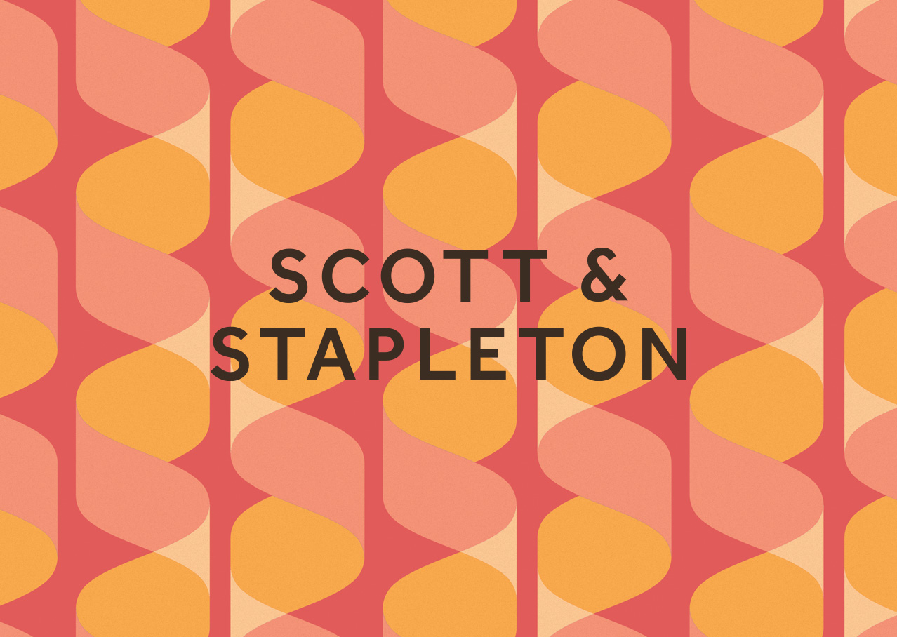 Scott & Stapleton logo design and branding