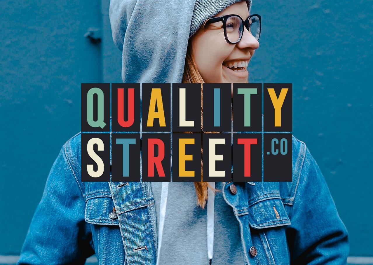 Quality Street branding