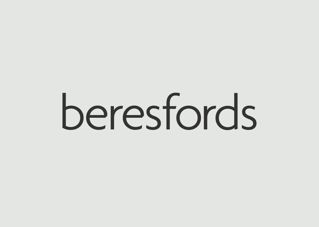 Beresfords logo design and branding refresh