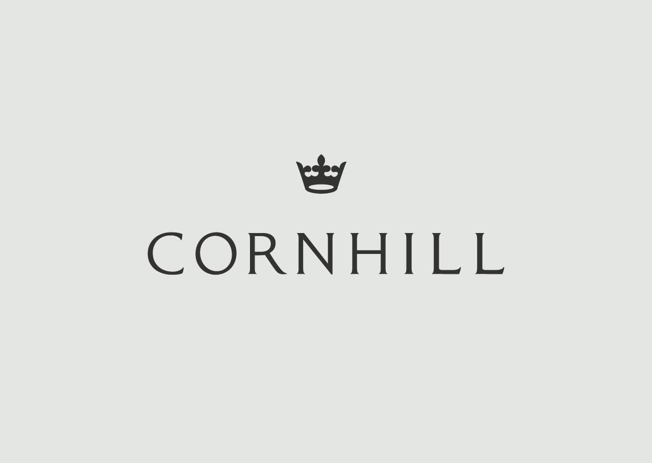 Cornhill logo design and branding