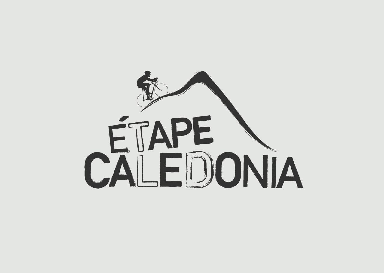 Etape Caledonia logo design and branding