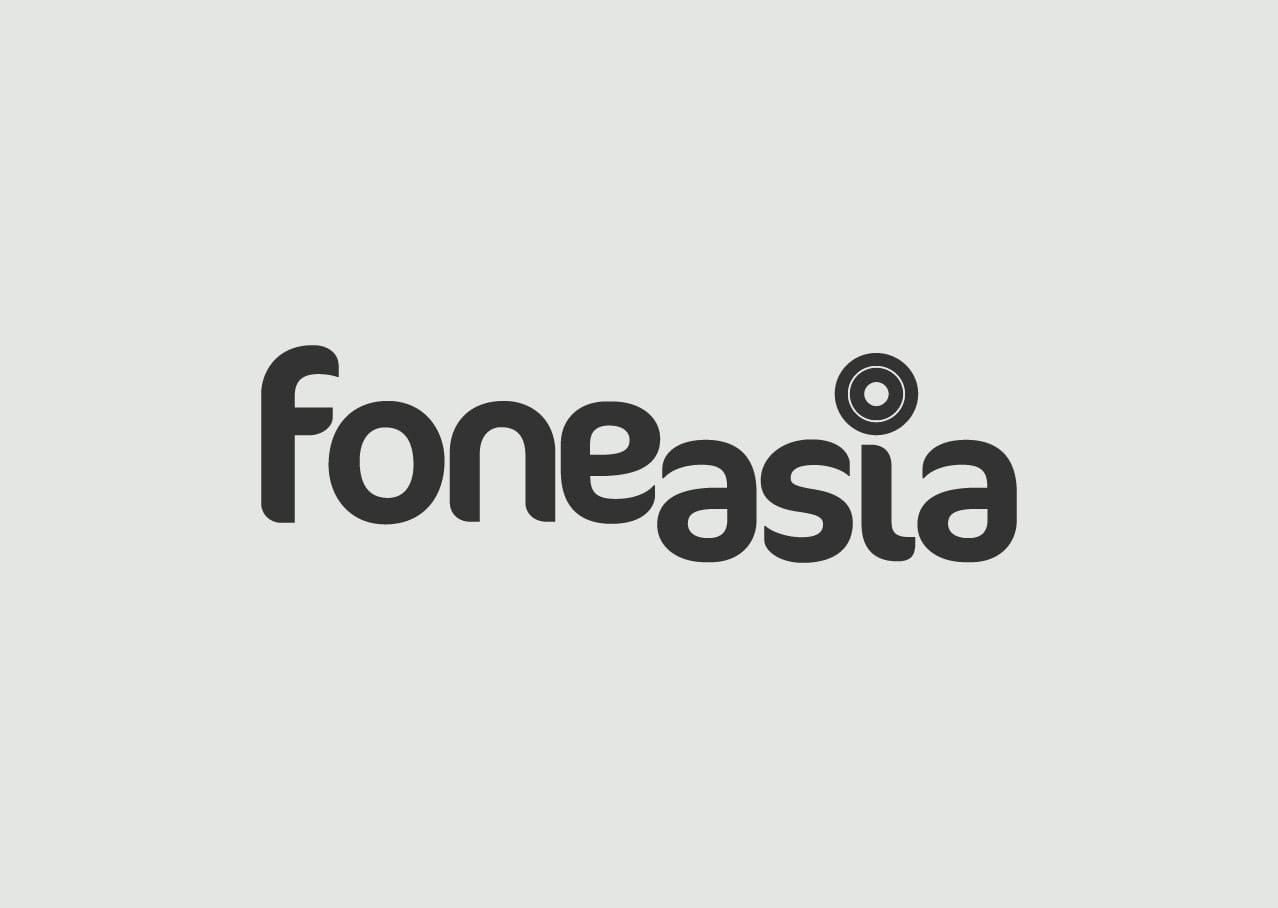 Fone Asia logo design and branding