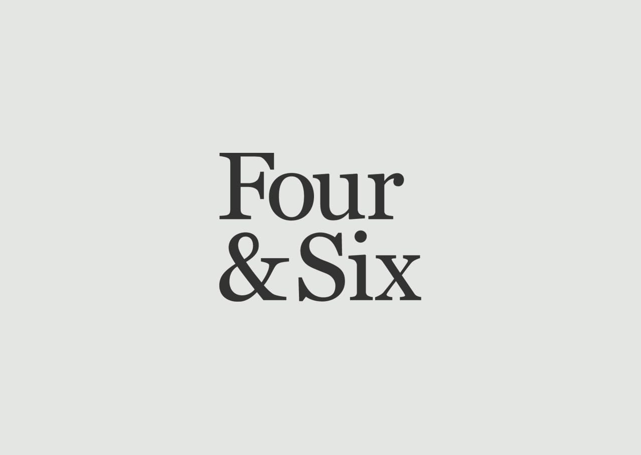 Four & Six logo design and branding