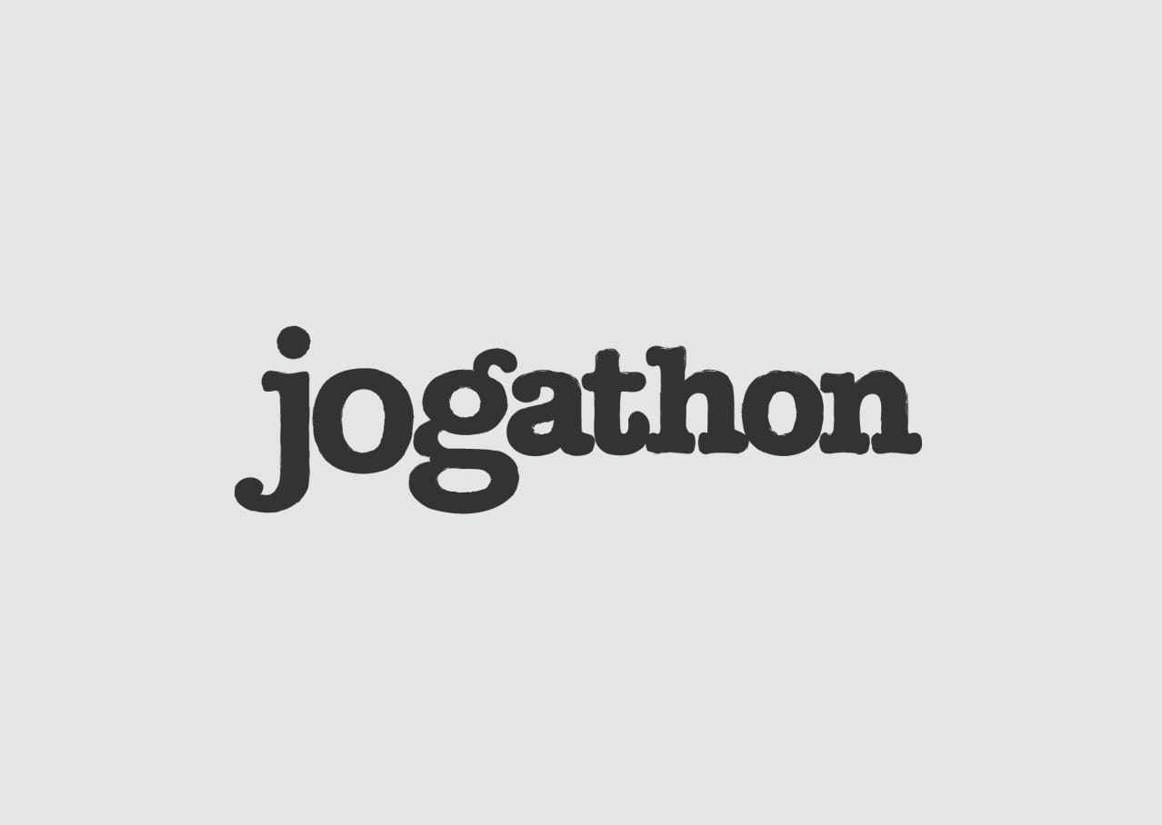 Jogathon logo design and branding