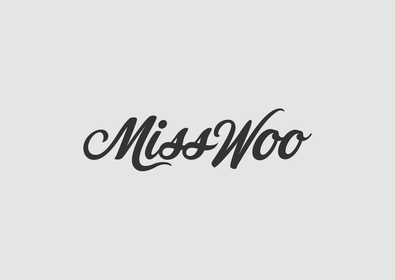 Miss Woo logo design and branding