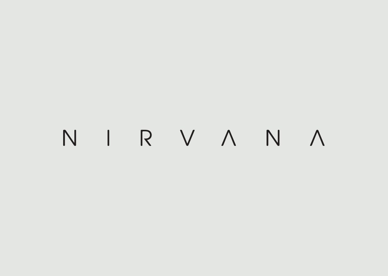 Nirvana logo design and branding