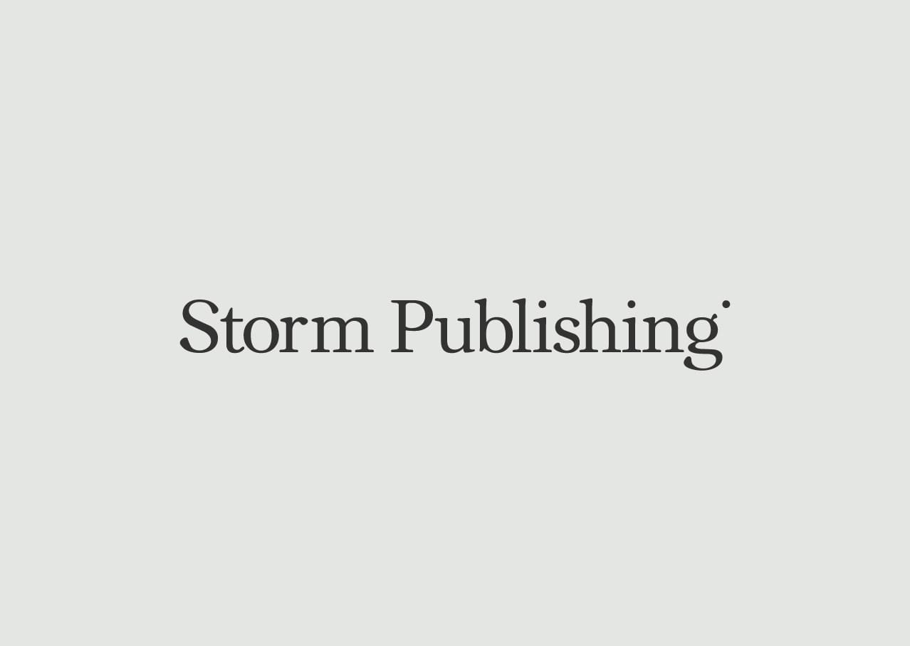 Storm Publishing design and branding