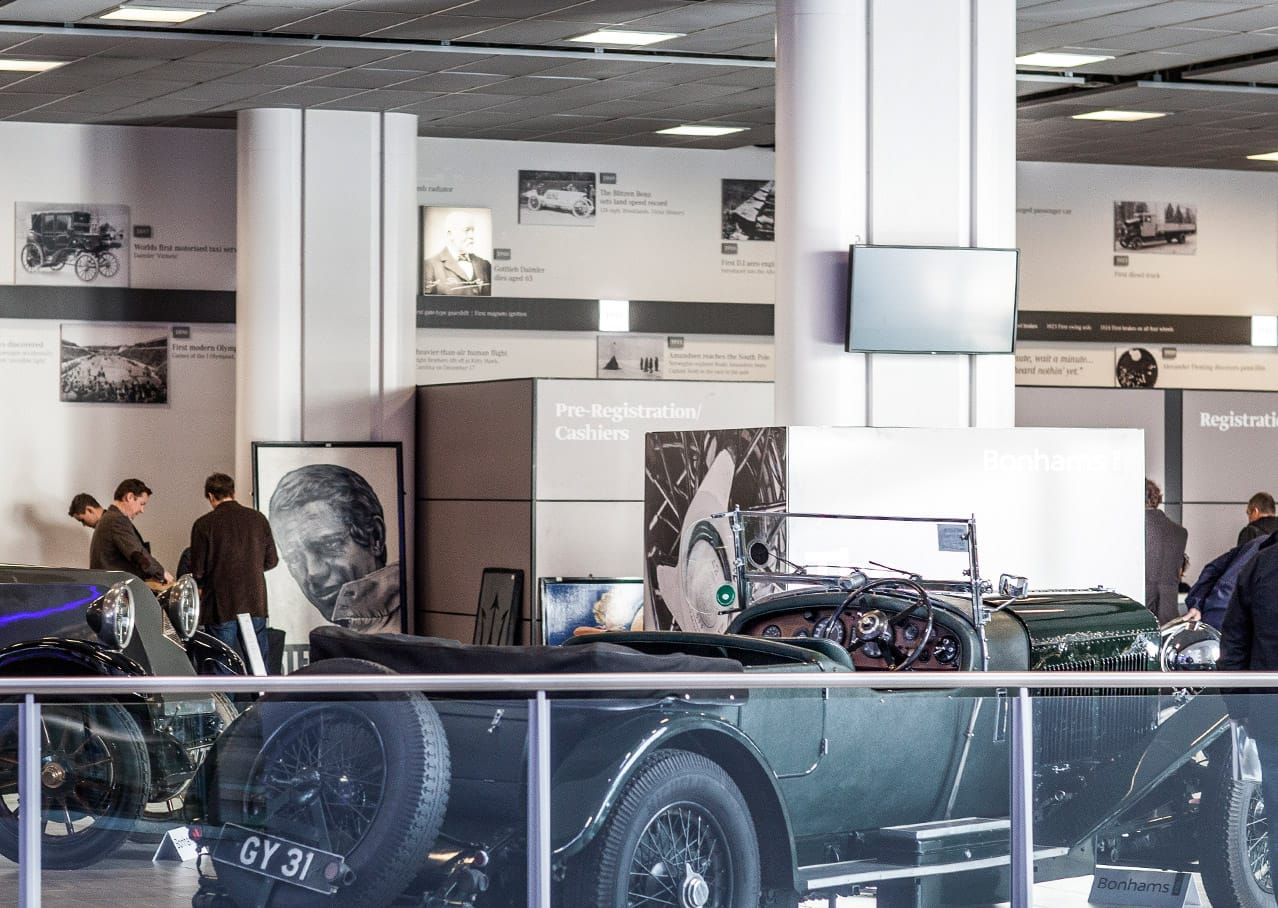 Graphic design and exhibition design for Mercedes-Benz World