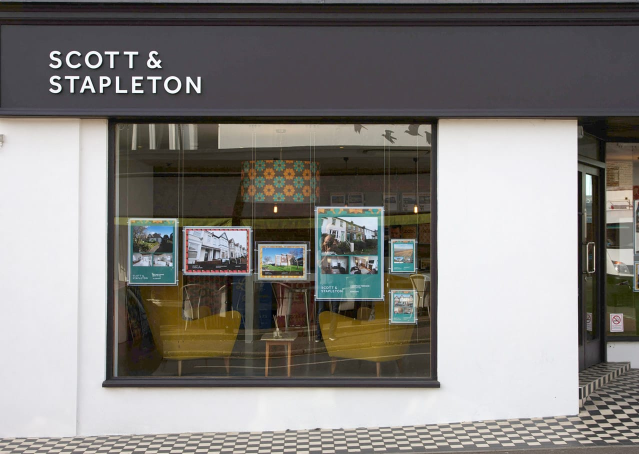 Scott and Stapleton shop and interior design from rebranding