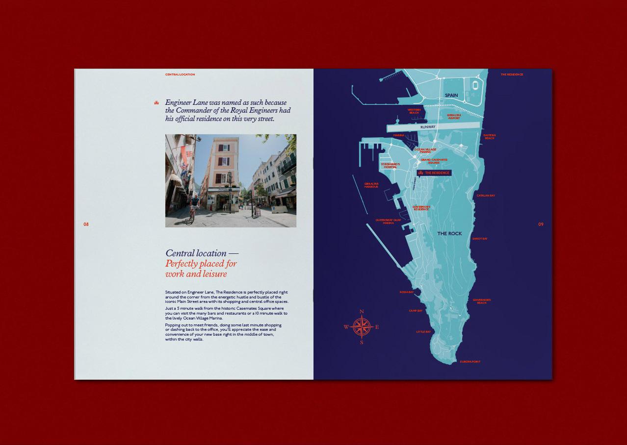 The Residence Brochure design