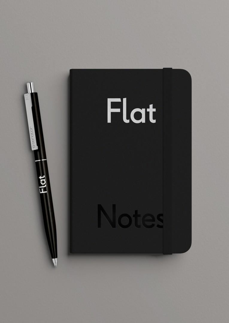 Flat Notebook