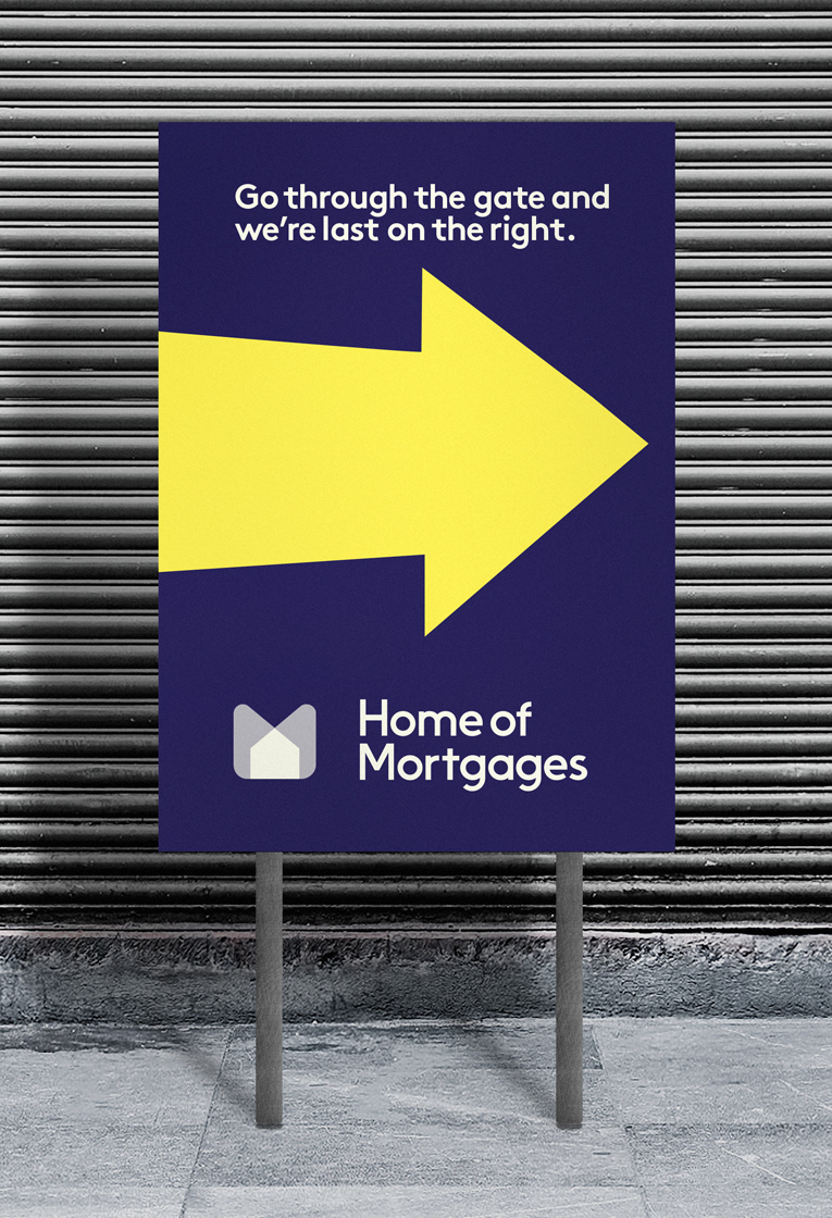 Home of Mortgages signs