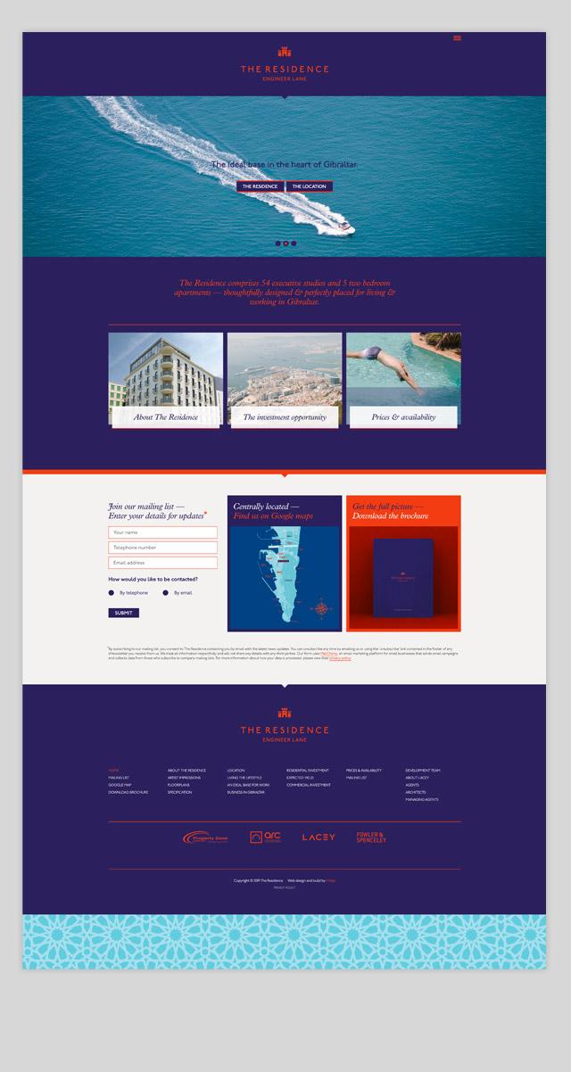 Residence Web design